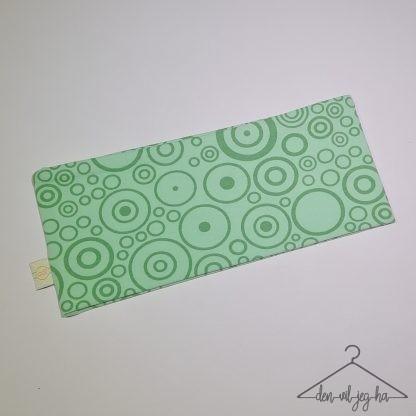 Lys grønn med sirkler