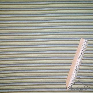 Smale striper blå grønn