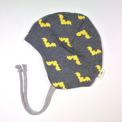 Hjelmlue flaggermus batman fleece
