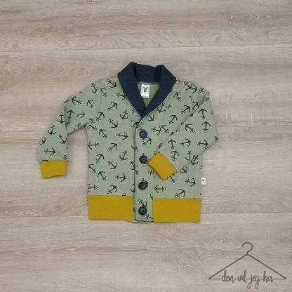 jakke med anker