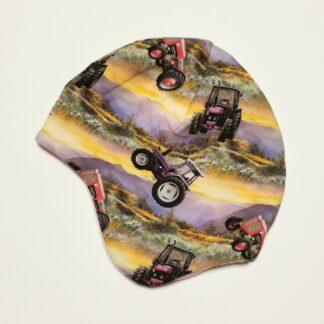 traktor hjelmlue fleece