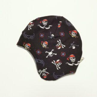 Pirat sjørøver hjelmlue fleece
