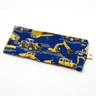 pannebånd Maskiner blå og gul