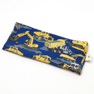 pannebånd Maskiner gul og blå