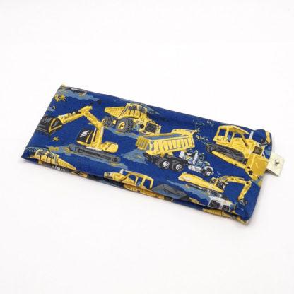 pannebånd Anleggsmaskiner gul og blå