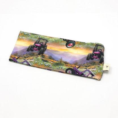 pannebånd Traktor lilla