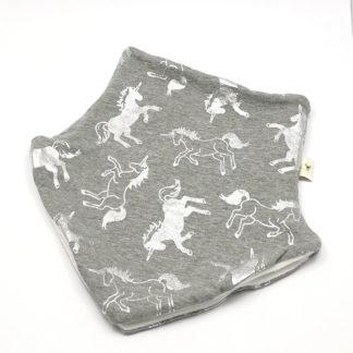 hals Enhjørninger sølv og grå