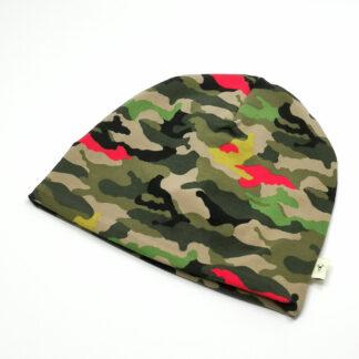 Army grønn rød gul lue