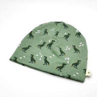 Dinosaurer grønn lue