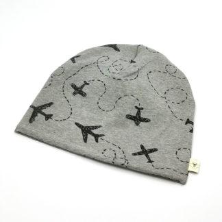 lue fly grå