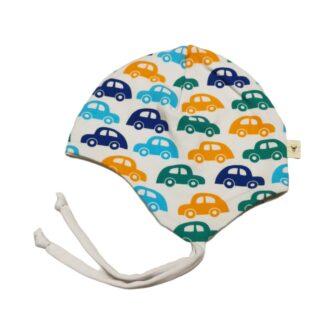 Biler hjelmlue barn