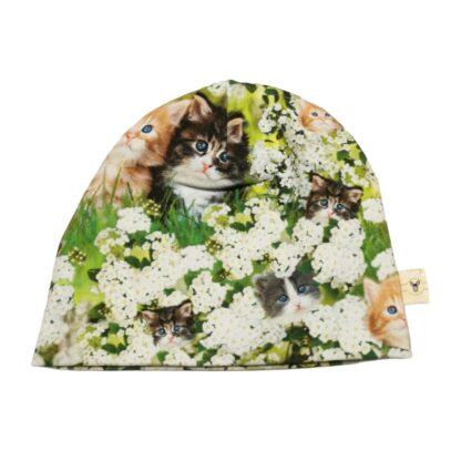 Kattepuser blomstereng lue barn