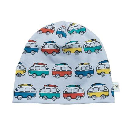 vw bil buss lue barn