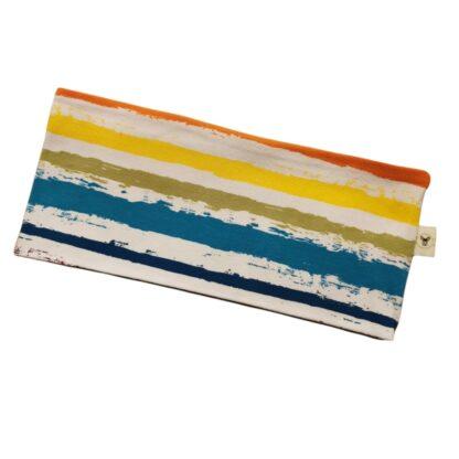 Friske striper blå til oransje pannebånd barn