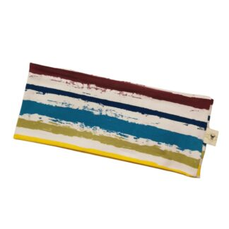 Friske striper gul til lilla pannebånd barn