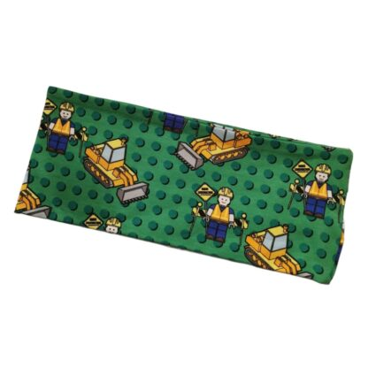 Lego grønn pannebånd barn