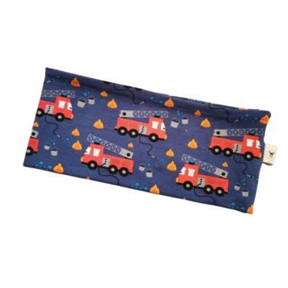 Brannbiler mørk blå pannebånd barn